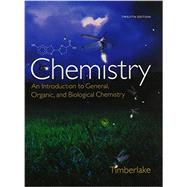 Chemistry An Introduction to General, Organic, and Biological Chemistry, Study Guide and Selected Solutions Manual, MasteringChemistry with eText and Access Card by Timberlake, Karen C., 9780133946369