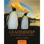 Leadership Research Findings, Practice, and Skills by DuBrin, Andrew J., 9781285866369