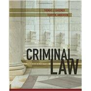 Criminal Law, 13th Edition by Gardner; Anderson, 9781305966369