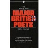 The Mentor Book of Major British Poets by Unknown, 9780451626370