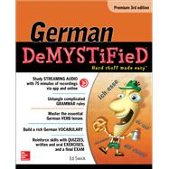 German Demystified, Premium 3rd Edition by Swick, Ed, 9781259836374