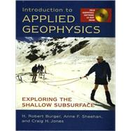 Intro To App Geophysics Cl by Burger,Robert H., 9780393926378