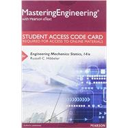 MasteringEngineering with Pearson eText -- Standalone Access Card - for Engineering Mechanics Statics by Hibbeler, Russell C., 9780133916379