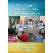 Leadership for Recreation, Parks and Leisure Services by Edginton, Christopher R., 9781571676382