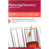 MasteringChemistry and Reg; with Pearson EText -- Standalone Access Card -- for Chemistry : A Molecular Approach