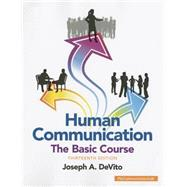 Human Communication The Basic Course by DeVito, Joseph A., 9780133866384