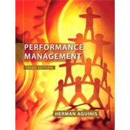 Performance Management by Aguinis, Herman, 9780132556385