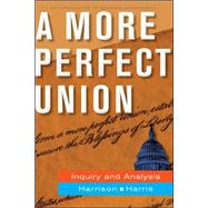 A More Perfect Union by Harrison, Brigid; Harris, Jean, 9780073526386