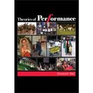 Theories of Performance by Elizabeth Bell, 9781412926386
