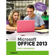 Microsoft Office 2013 Post Advanced by Vermaat, Misty E., 9781285166391