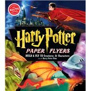 Harry Potter Paper Flyers by Unknown, 9781338106398