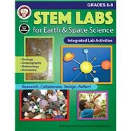 Stem Labs for Earth & Space Science, Grades 6 - 8 by Cameron, Schyrlet; Craig, Carolyn, 9781622236398
