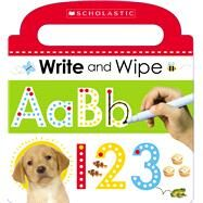 Write and Wipe ABC 123 (Scholastic Early Learners) by Scholastic, 9780545906401