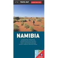 Namibia Travel Map by Globetrotter, 9781770266407