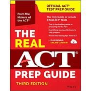 The Real ACT Prep Guide by ACT Inc., 9781119236412