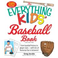 The Everything Kids' Baseball Book by Jacobs, Greg, 9781605506418