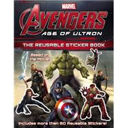 Marvel's Avengers: Age of Ultron: The Reusable Sticker Book by Cho, Charles, 9780316256421