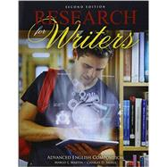 Research for Writers by Smires, Charles; Martin, Margo, 9781465276421
