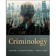 Criminology by Adler, Freda; Laufer, William; Mueller, Gerhard O., 9780078026423