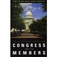 Congress and Its Members, 13th Edition by Davidson; Oleszek; Lee, 9781608716425