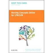 Nursing Concepts Online - Lpn/Lvn Retail Access Card by Elsevier, 9780323446426