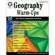 Geography Warm-ups, Grades 5 - 8 by Barden, Cindy; Silvano, Wendi, 9781622236428
