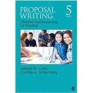 Proposal Writing by Coley, Soraya M., Ph.D.; Scheinberg, Cynthia A., Ph.D., 9781483376431