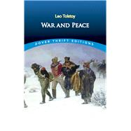 War and Peace by Tolstoy, Leo, 9780486816432