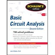Schaum's Outline of Basic Circuit Analysis, Second Edition by O'Malley, John, 9780071756433