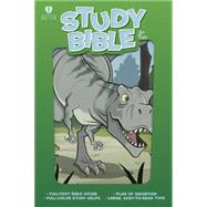 HCSB Study Bible for Kids, Dinosaur LeatherTouch by Holman Bible Staff, 9781433616433