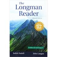 Longman Reader, The, MLA Update Edition by Nadell, Judith; Langan, John, 9780134586434