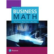 Business Math by Cleaves, Cheryl; Hobbs, Margie; Noble, Jeffrey, 9780134496436