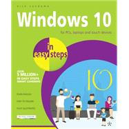Windows 10 in Easy Steps by Vandome, Nick, 9781840786439