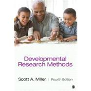 Developmental Research Methods by Scott A. Miller, 9781412996440
