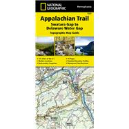 National Geographic Appalachian Trail, Swatara Gap to Delaware Water Gap - Pennsylvania by National Geographic Maps - Trails Illustrated, 9781597756440