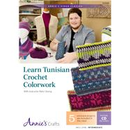 Learn Tunisian Crochet Colorwork by Strong, Rohn, 9781573676441