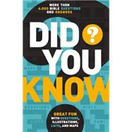 Did You Know?: More Than 6,000 Bible Questions and Answers by Thomas Nelson Publishers, 9780529106445