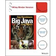 Big Java: Early Objects by Horstmann, Cay, 9781119056447
