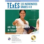 TExES 115 Mathematics Grades 4-8: Testware Edition by Wilkerson, Trena, Ph.D., 9780738606453