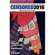 Censored 2016 by HUFF, MICKEYROTH, ANDY LEE, 9781609806453