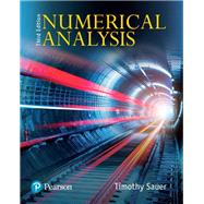 Numerical Analysis. by Sauer, Timothy, 9780134696454