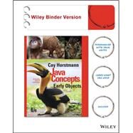 Java Concepts by Horstmann, Cay, 9781119056454