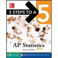 5 Steps to a 5 AP Statistics 2016 by Hinders, Duane, 9780071846455