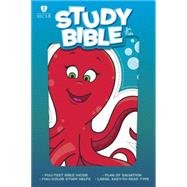 HCSB Study Bible for Kids, Octopus LeatherTouch by Unknown, 9781433616457