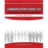 Communication Studies 103 9781465226457U