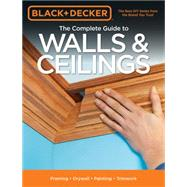 The Complete Guide to Walls & Ceilings by Cool Springs Press, 9781591866459