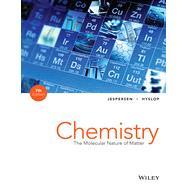 Chemistry by Jespersen, Neil D.; Hyslop, Alison; Brady, James E. (CON), 9781118516461