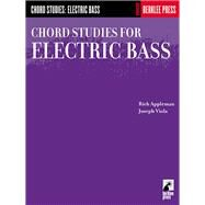 Chord Studies for Electric Bass by Appleman, Rich, 9780634016462