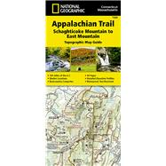 Appalachian Trail, Schaghticoke Mountain to East Mountain - Connecticut, Massachusetts Map by National Geographic Maps - Trails Illustrated, 9781597756464
