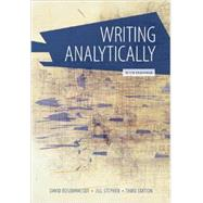 Writing Analytically With Readings by Rosenwasser, David; Stephen, Jill, 9781285436470